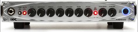 Gallien-Krueger MB 500 500W Ultra-Light Bass Amplifier Head MB500-GALLIEN