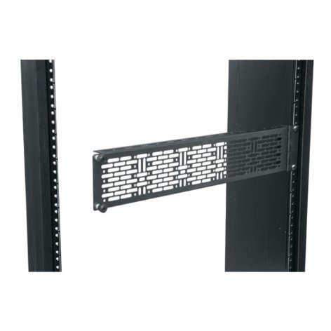 Middle Atlantic Products APM-2  2RU Hinged Mounting Panel APM-2