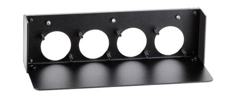 Radio Design Labs AMS-RU4  Mounting Panel for (4) AMS Accessories AMS-RU4