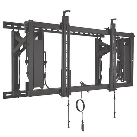 Chief Manufacturing LVS1U ConnexSys Video Wall Landscape Mounting System with Rails LVS1U