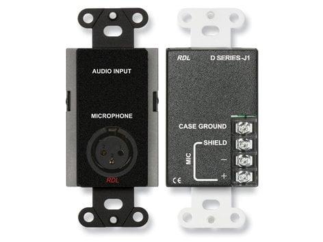 RDL DB-J1 Microphone Input Assembly DB-J1