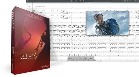 PreSonus Notion™ 6 [DOWNLOAD] Music Notation Software NOTION-6