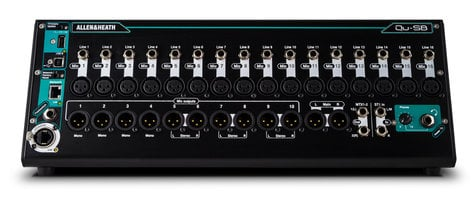 Allen & Heath QU-SB  Portable 18 IN / 14 OUT Digital Mixer With Remote Wireless Controll QU-SB