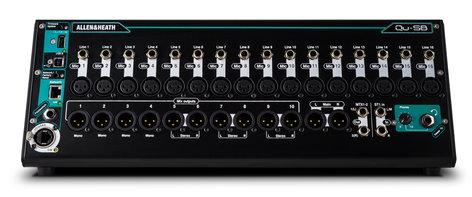 Allen & Heath QU-SB Portable 18 IN / 14 OUT Digital Mixer With Remote Wireless Control QU-SB
