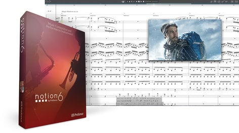 PreSonus NOTION-6-BOX Notion™ 6 [BOXED] Music Notation Software NOTION-6-BOX