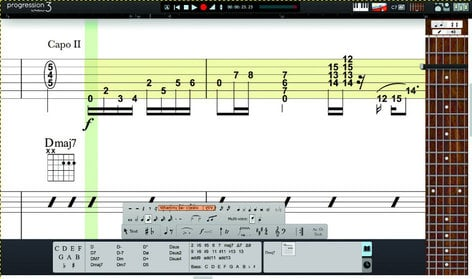 PreSonus Progression 3 [EDUCATIONAL DISCOUNT - DOWNLOAD] Guitar / Bass / Drums Composition Software PROGRESSION-3-ESD