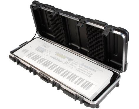 SKB Cases 1SKB-4214W Hardshell ATA 61-Key Keyboard Flight Case 1SKB-4214W
