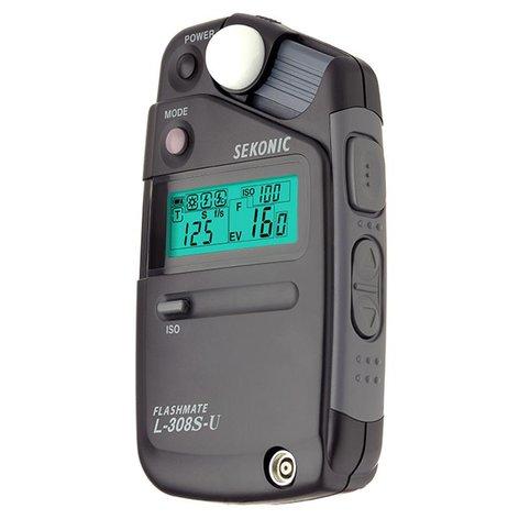 Sekonic L-308S-U Flashmate Analog Light Meter  401-307