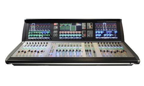 Soundcraft VI-2000  Digital Live Sound Console, 96 inputs, 24 faders  VI-2000