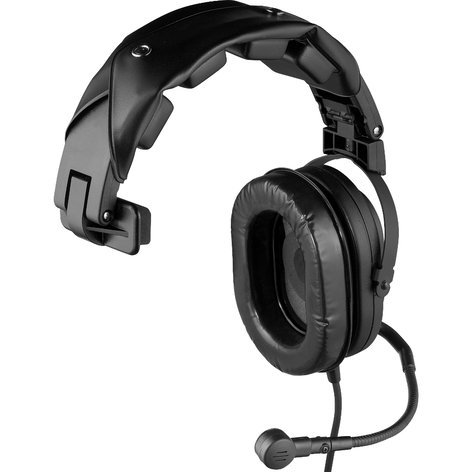 Telex HR-1 A5M Single Muff Headset with A5M Connector HR-1-A5M