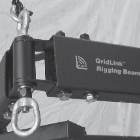 """Allen Products/Adaptive Technologies GridLink Rigging Beam System 24"""" Rigging Beam SAS-024-RB"""