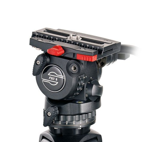 Sachtler System FSB 8 SL MCF Fluid Head FSB 8 System with Mid-Level Spreader and Padded Bag 0775-SACHTLER
