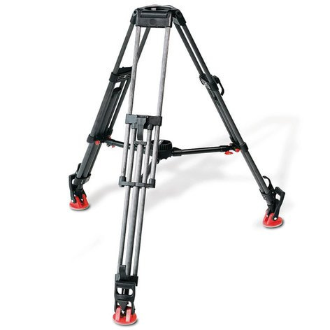 Sachtler System 12 SB ENG 2 CF Fluid Head DV 12 SB System with Ground Spreader and Protective Cover 1262-SACHTLER