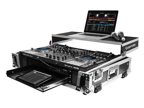 Odyssey FZGSMCX8000W2 Glide Style Case for Denon MCX8000 DJ Controller FZGSMCX8000W2