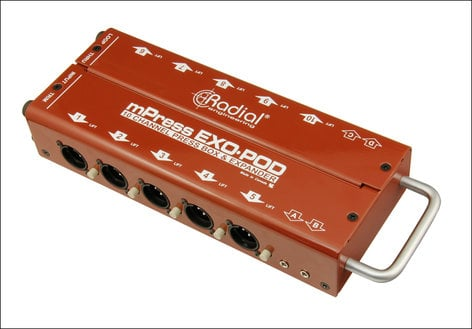 Radial Engineering Exo-Pod Broadcast Splitter EXO-POD