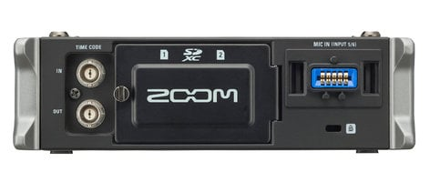 Zoom F4-ZOOM 4-Channel Portable Recorder, Broadcast/ENG F4-ZOOM