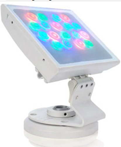 Philips Color Kinetics 116-000026-01 ColorBlast 6 LED Fixture with 21° Beam Angle Frosted Glass Lens in Black 116-000026-01