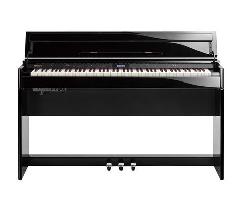 Roland DP-603 88-Key Digital Home Piano, Classic Polished Ebony or Elegant Polished White Finish DP-603