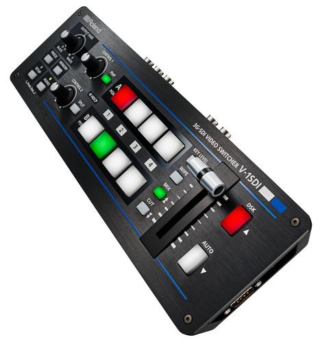 Roland System Group V-1SDI 3x SDI and 1x HDMI Input 1080p Video Switcher V-1SDI
