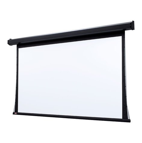 """Draper Shade and Screen 101755  189"""" Premier 16:10 Matte White Projection Screen with 110V Motor 101755"""