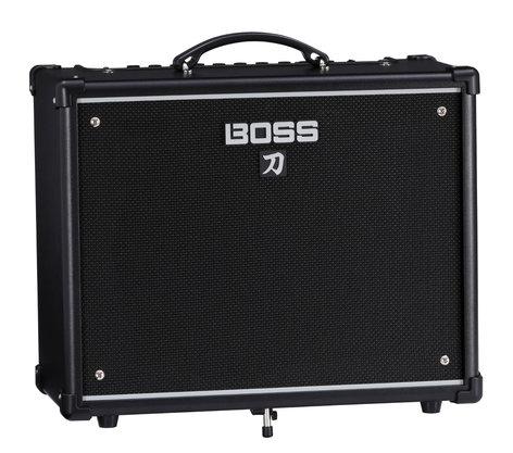 Boss Katana-50 1x12 Combo Guitar Amplifier, 50W KTN-50