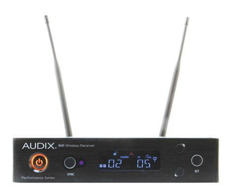 Audix AP41 BP R41 Diversity Receiver with B60 Bodypack Transmitter, No Microphone AP41-BP