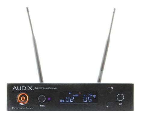 Audix AP41 OM5 R41 Diversity Receiver with H60/OM5 Handheld Transmitter AP41-OM5