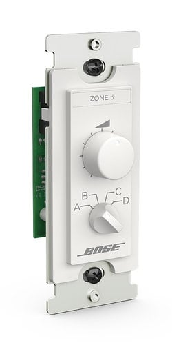 Bose CC-3-BOSE 3 Zone Controller with Source Selector CC-3-BOSE