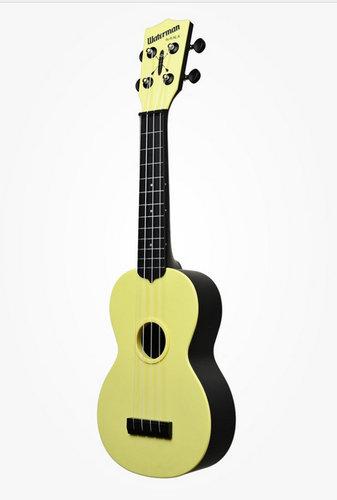 Kala Brand Music Co. Waterman Composite Solid Ukulele, Matte Colors KA-SWB