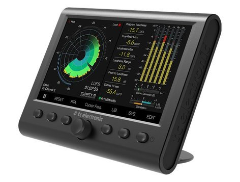 TC Electronic CLARITY-M Clarity M Stereo and 5.1 Audio Meter for Mixing, Mastering CLARITY-M