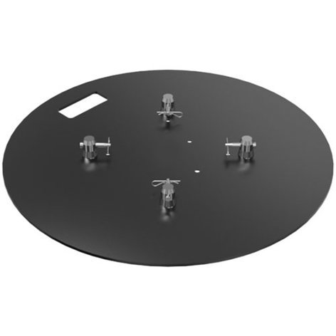 Global Truss BASEPLATE-28X28R  Steel Round Baseplate BASEPLATE-28X28R