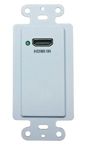 Intelix DIGI-HD60-WP-S  HDMI Single Gang Wallplate HDBT Transmitter with PoH DIGI-HD60-WP-S