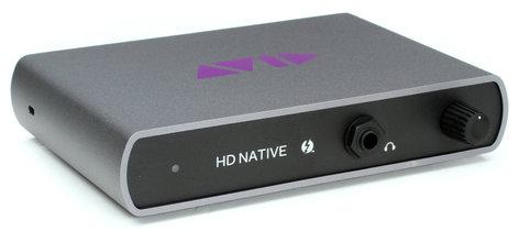 Avid HD Native Thunderbolt Core with Pro Tools HD Thunderbolt Interface with Pro Tools HD Software HD-NATIVE-TB+PTHD