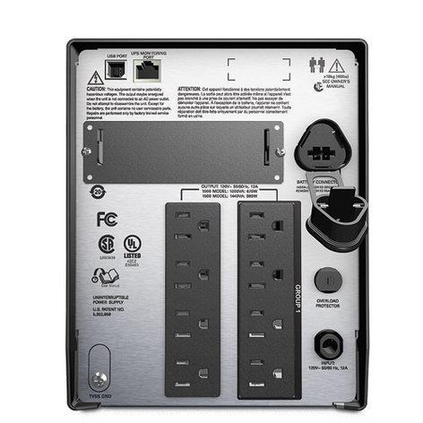 American Power Conversion SMT1000 Smart-UPS Tower, 1000VA LCD 120V SMT1000