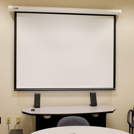 Draper Shade and Screen 132079  Salara Electric Front Projection Screen 132079