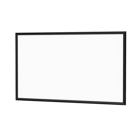 "Da-Lite 24827V  Imager 54 x 126"" Fixed Frame Screen 24827V"