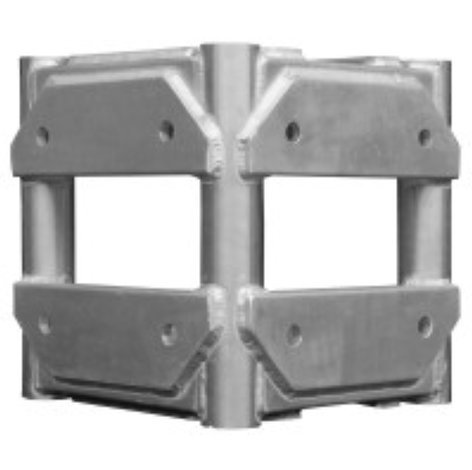 "Show Solutions Inc SP-1201 4 Way Corner Block for 12"" x 12"" SP-1201"