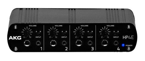 AKG HP4E  4-Channel Headphone Amplifier  HP4E