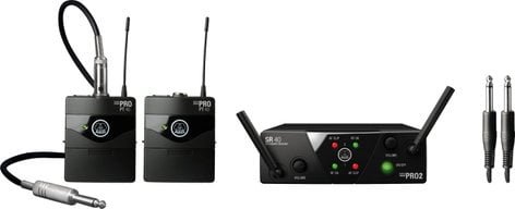 AKG MINI2INSTR-US25AB  Dual Instrument Wireless System - AB Band MINI2INSTR-US25AB
