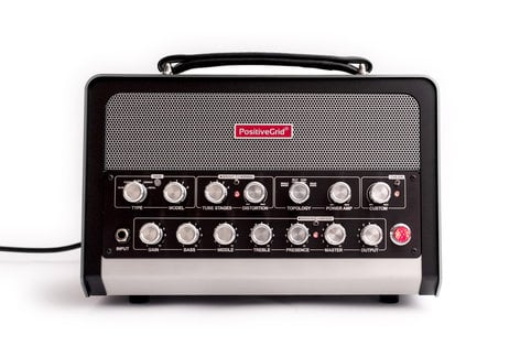 Positive Grid BIAS Head 600W Amp Match Amplifer Head with Cover BIAS-HEAD