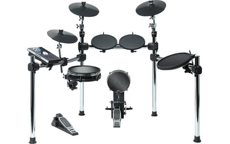 Alesis COMMAND-KIT Command Kit Eight-Piece Electronic Drum Kit with Mesh Snare and Mesh Kick COMMAND-KIT