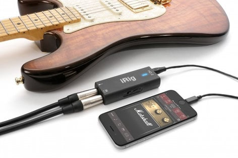 IK Multimedia iRig HD 2 Compact Digital Guitar Interface For iOS, Mac and PC IRIG-HD-2