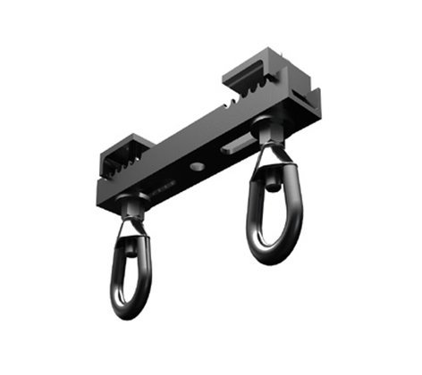 "ATM/Adaptive Technologies BC7-12-2 7-12"" 1-Ton 2 Eye Beam clamp BC7-12-2"