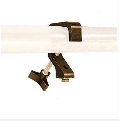 Apollo Design Technology AC-CLAMP-PD-S-B Pipe Dream Clamp, Black (Single) AC-CLAMP-PD-S-B
