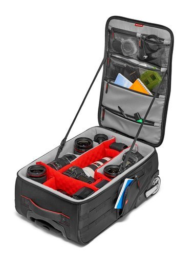 Manfrotto Pro Light Reloader-55 Camera Roller Bag for DSLR/Camcorder MB-PL-RL-55