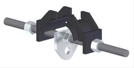 "ATM/Adaptive Technologies BC5-S16 1 1/2 Ton Beam Clamp, 16"" BC5-S16"