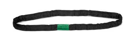 Rose Brand HWSLINGRD6FT 6 ft. Green Label Vertical Capacity Round Sling HWSLINGRD6FT