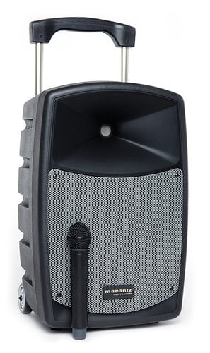 """Marantz Professional Voice Rover 2-Way Portable AC/Battery Powered PA System, 10"""" VOICE-ROVER"""