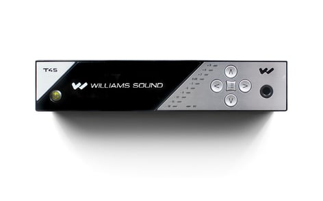 Williams Sound PPA-T45-NET-D  Large-Area FM Base Transmitter with Network Control, and Dante Audio Input PPA-T45-NET-D