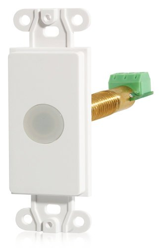 Atlas Sound M-1AJW IR Repeater System Receiver, Decora-Style, White M1BJW